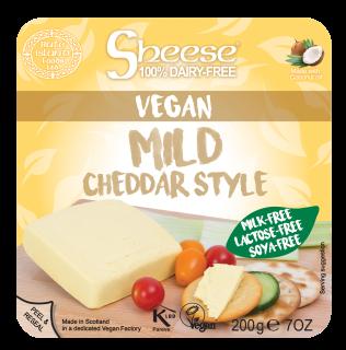 Mild Cheddar Style Block Soya Free