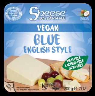 Blue English Style Soya Free Wedge 200g
