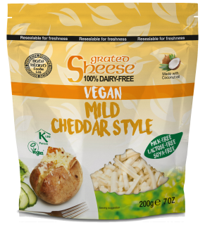 Grated Mild Cheddar Style 200g