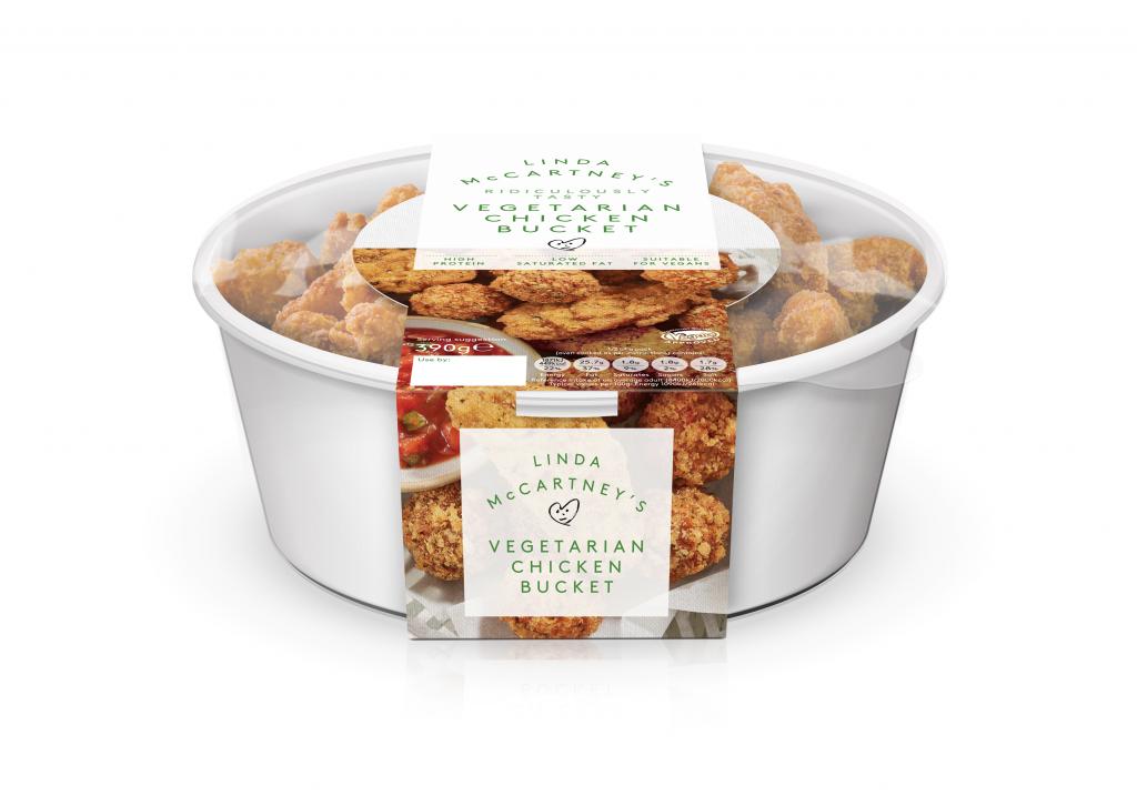 Linda McCartney's Vegetarian Chicken Bucket