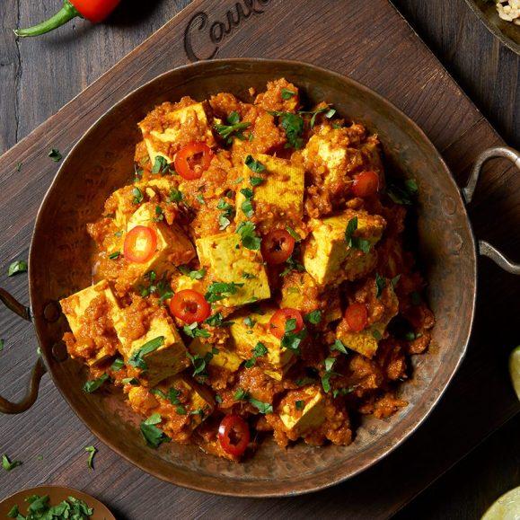 Vegan Tofu Rogan Josh with Chilli Rice