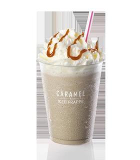 Caramel Iced Frappé