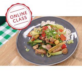 Easy Veggie Favourites (Part 1) – Online Class