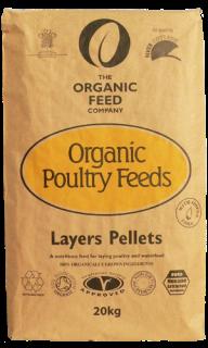 Organic Feed Company – Organic Layers Pellets