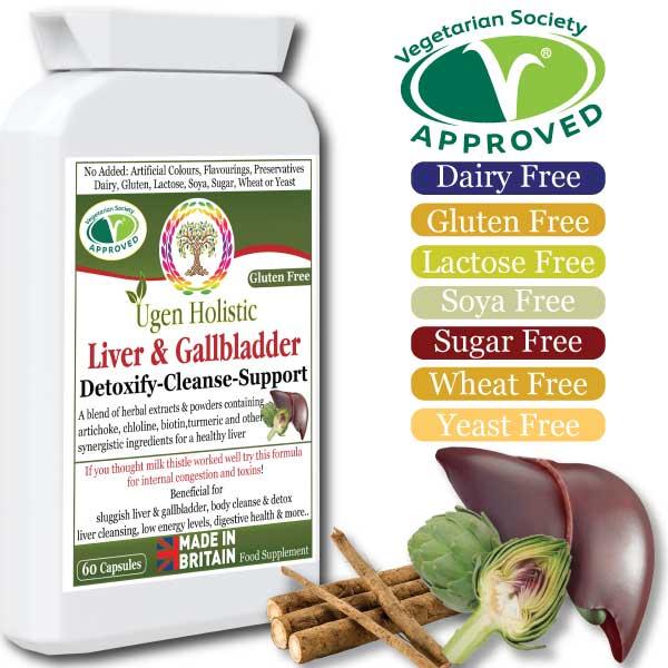 Liver & Gallbladder Detoxify-Cleanse-Support