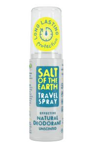 Salt of the Earth Natural Unscented Travel Deodorant Spray 50ml