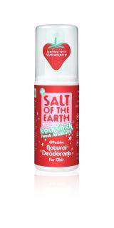 Salt of the Earth Sweet Strawberry Natural  Deodorant Spray 100ml
