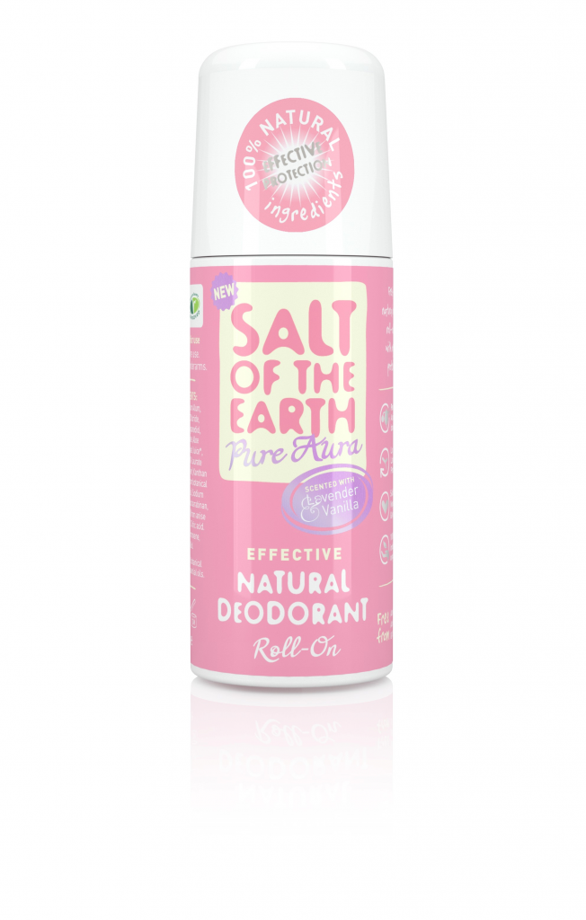 Salt of the Earth Lavender & Vanilla Natural Roll On Deodorant 75ml