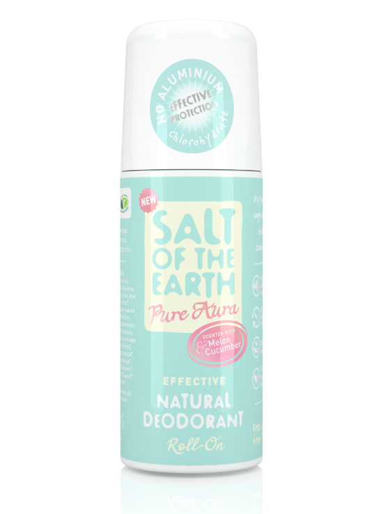 Salt of the Earth Melon & Cucumber Natural Roll On Deodorant 75ml