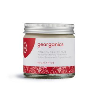 Natural Toothpaste with organic eucalyptus essential oil