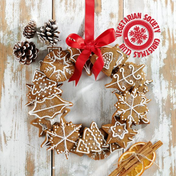 Gingerbread Biscuit Garland