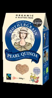 Quinola Mothergrain Quinoa Grain: Pearl / white