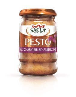 Sacla' No.3 Char-Grilled Aubergine Pesto