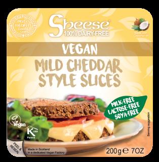 Mild Cheddar Style Sliced 180g