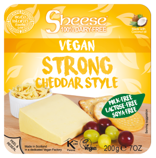 Strong Cheddar Style Wedge 200g