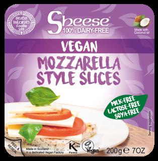 Mozzarella Style Sliced 200g