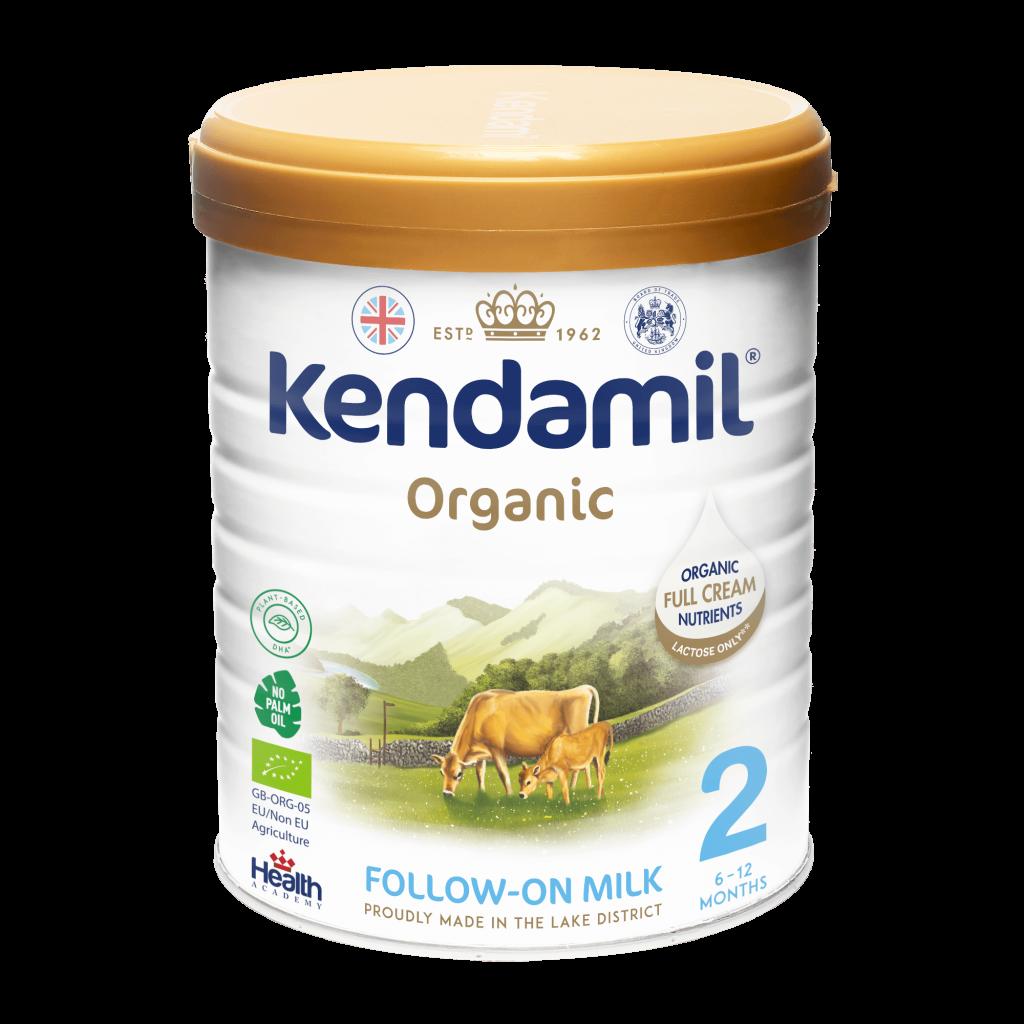 Kendamil 2 Organic (6-12 months) Follow On milk Czech/Singapore