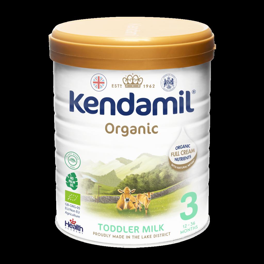 Kendamil 3 Organic (12-36 months) Toddler milk Czech/Singapore