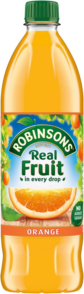 Robinsons No Added Sugar Orange