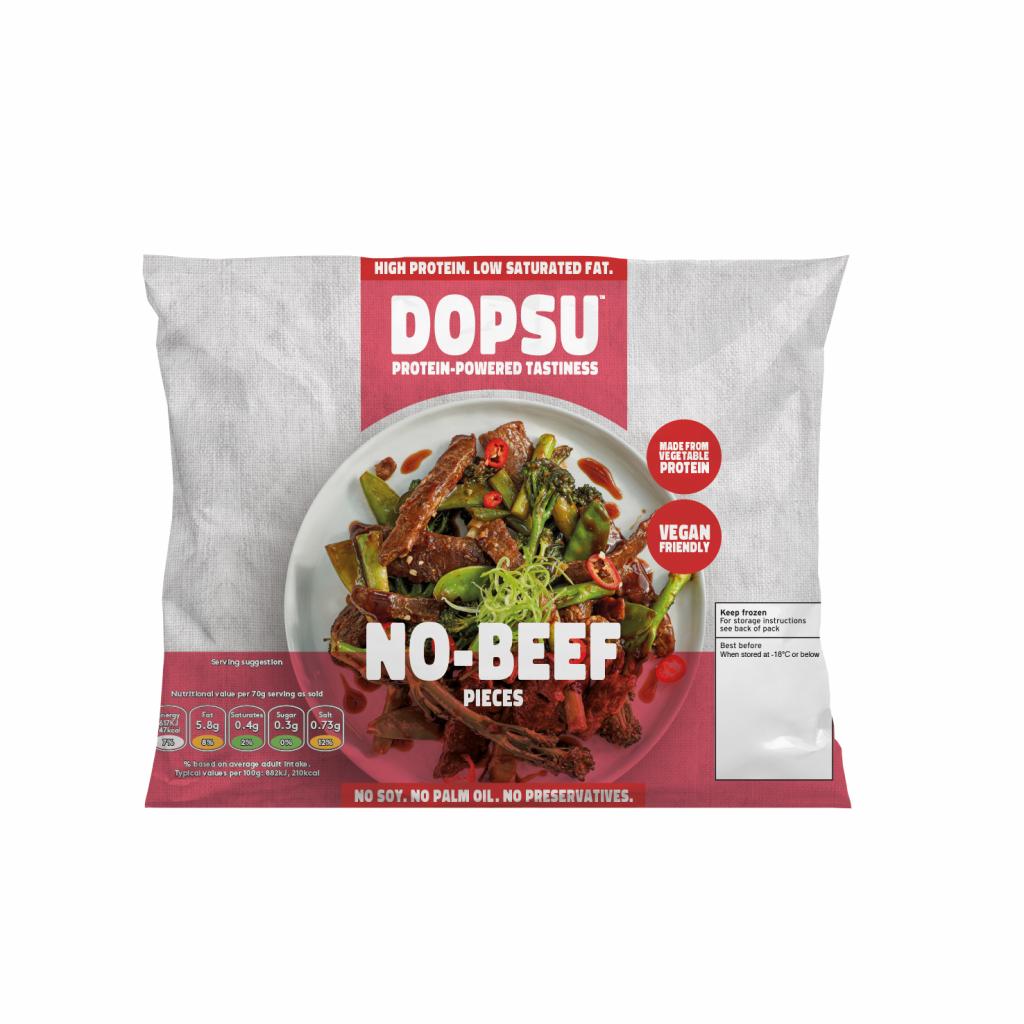 Dopsu No-Beef Flavour Pieces 280g