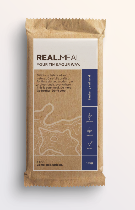 RealMeal, Blueberry and Almond