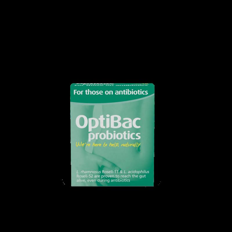 Optibac For Those on Antibiotics